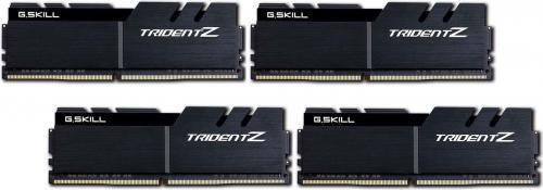 G.Skill Trident Z DDR4, 4x16GB, 3600MHz, CL17 (F4-3600C17Q-64GTZKK)