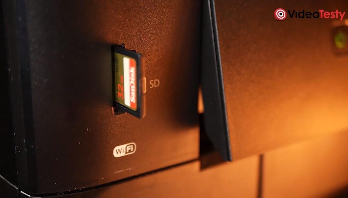 Karta SD w drukarce Epson L6570