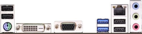 Asrock H81M-DGS R2.0 s1150 H81 2DDR3 USB3 mATX