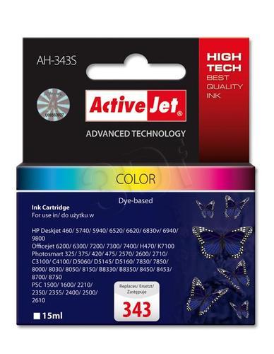 ActiveJet AH-343S tusz trójkolorowy do drukarki HP (zamiennik HP 343 C8766EE) Premium Standard