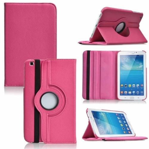 "WEL.COM Etui obrotowe Samsung Galaxy Tab Pro 8.4"" ciemny róż"