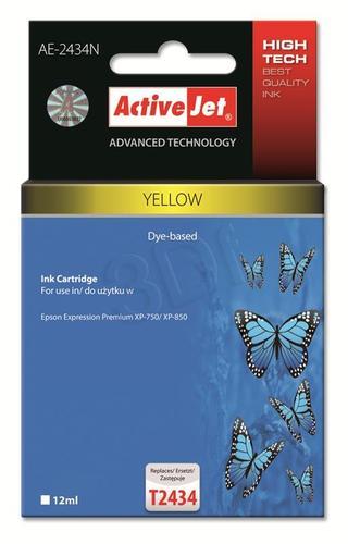 ActiveJet AE-2434N tusz yellow do drukarki Epson (zamiennik Epson T2434) Supreme