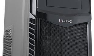 Logic Concept A30 Midi Tower z zasilaczem LOGIC 500W ATX USB 3.0 (AT-A303-10-LOG500A-0002)