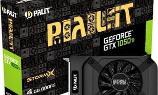 Palit GeForce GTX 1050 Ti STORMX 4GB GDDDR5 (128 Bit) HDMI, DP, DVI, BOX (NE5105T018G1F)