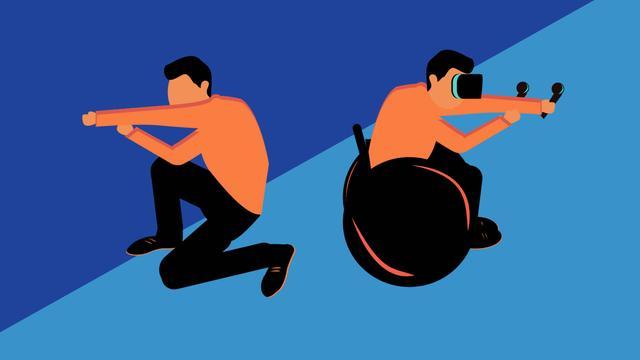 WalkinVR - Polak Pomaga Niepełnosprawnym Stanąć na Wirtualne Nogi