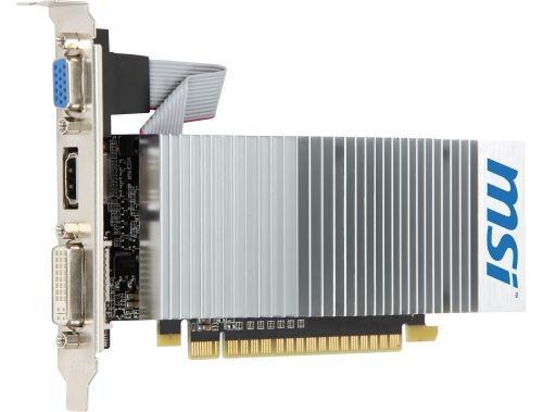MSI GeForce CUDA GF210 512MB/1GBTC DDR3 PX 64BIT DVI/HDMI/Dsub BOX