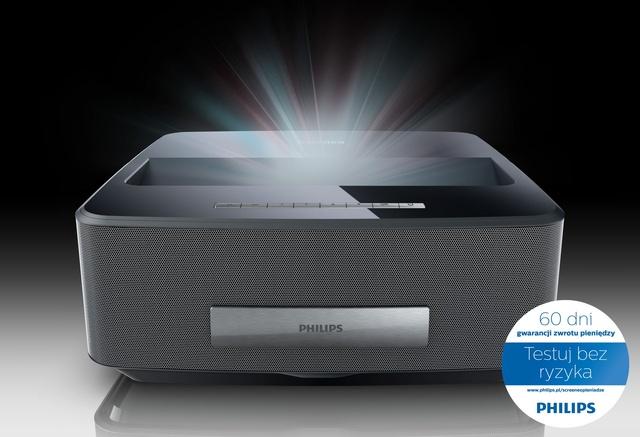 Przetestuj Projektor Philips Screeneo!