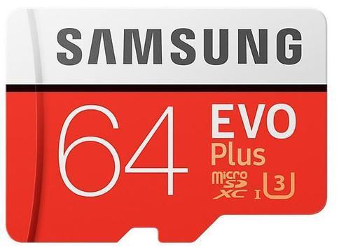 prezent dla mamy na święta - karta pamięci Samsung microSDXC Evo Plus 64GB
