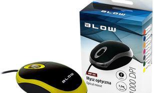 Blow przewodowa optyczna MP-20 1000dpi żółty