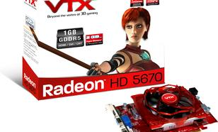 VTX3D HD 5670 1GB GDDR5(V2)