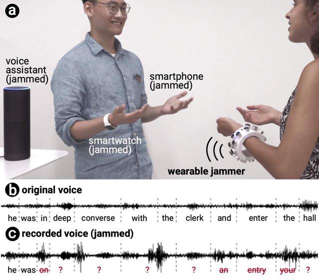 Opaska blokująca dźwięk wykorzystuje nieporadność mikrofonów