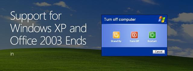 Koniec wsparcia systemu Windows XP
