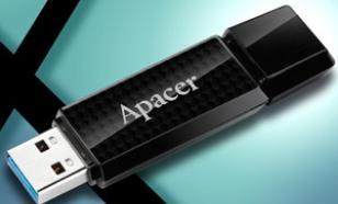 Apacer Flash Drive AH352 32GB USB 3.0 Black
