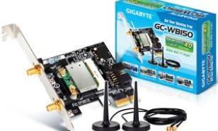 Gigabyte GC-WB150 Unboxing