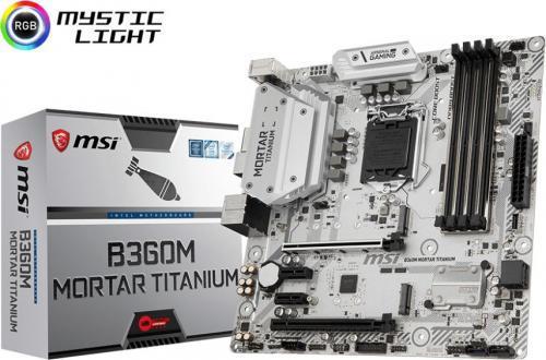 MSI B360M MORTAR TITANIUM