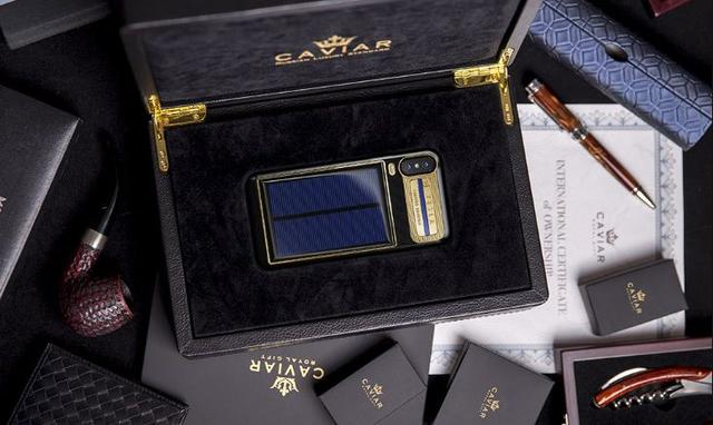 Caviar iPhone X Tesla - Takiego iPhone'a jeszcze nie widzieliście!