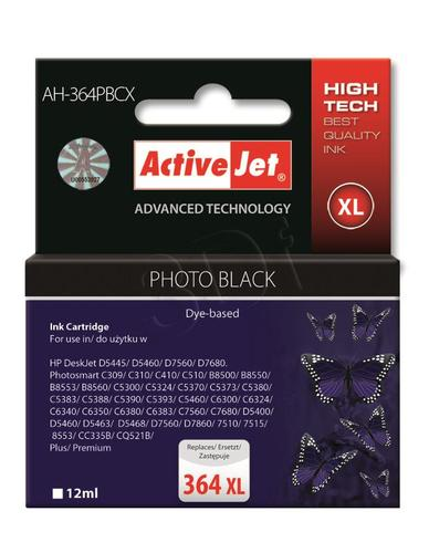 ActiveJet AH-364PBCX tusz foto czarny do drukarki HP (zamiennik HP 364XL CB322EE) Premium
