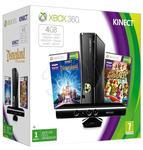 Xbox 360 4GB+Kinect+K.Adventures+Disneyland