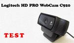 Logitech HD Pro Webcam C920 - Test Kamerki Internetowej FullHD