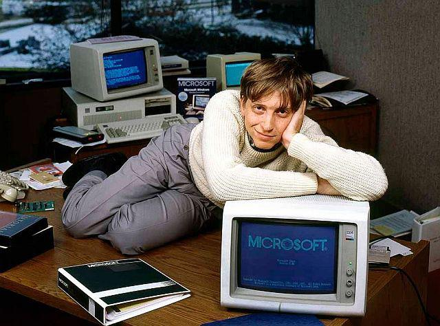 Bill Gates młody
