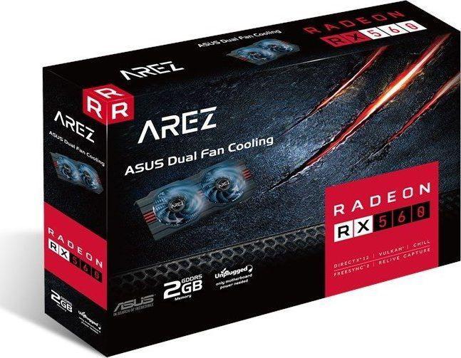 Asus RX 560 Arez Evo 4GB GDDR5, 128-bit (90YV0AHF-M0NA00)