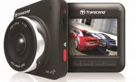 TRANSCEND DrivePro 200 - funkcjonalny rejestrator samochodowy