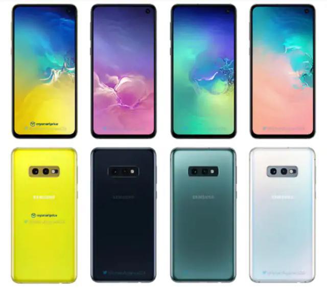 Kolory Samsungów z serii S10
