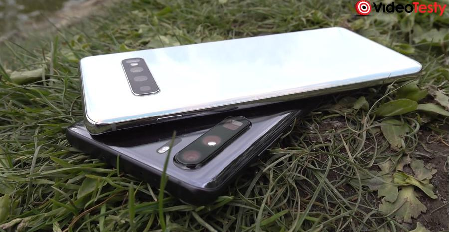 Aparaty w obydwu urządzeniach odstają, ale w S10+ mniej
