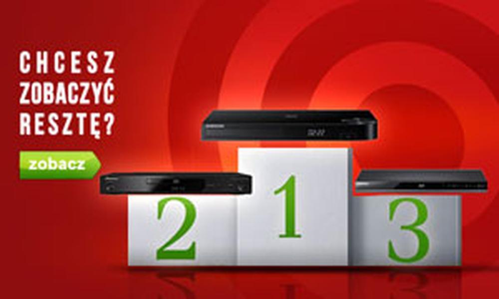 Czołowe Odtwarzacze Blu-ray - TOP 10 Czerwiec 2015