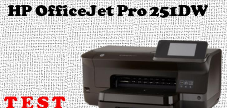 HP OfficeJet PRO 251DW [TEST]