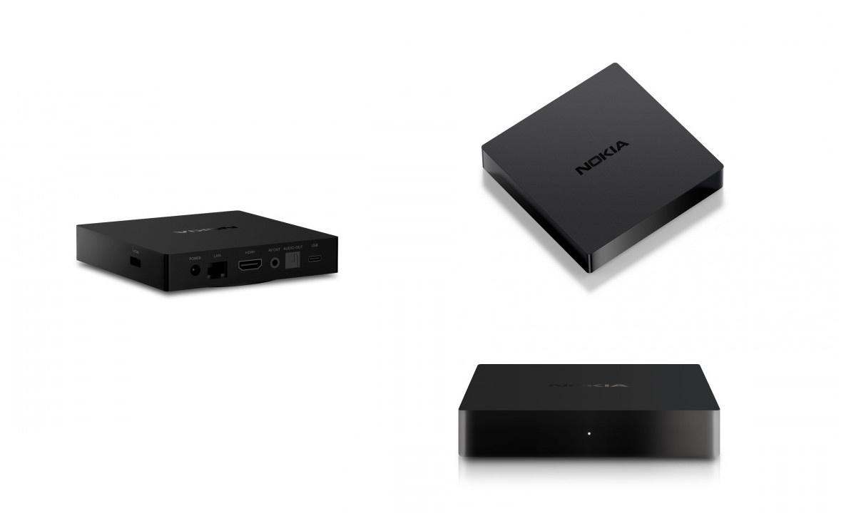 Nokia Streaming Box 8000 posiada standardowy komplet portów i wyjść audio/wideo