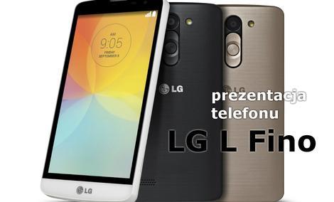 LG L Fino - Budżetowy Telefon Prosto z IFA 2014