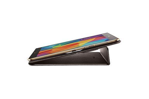 """Samsung Etui w formie """"book cover"""" do GALAXY Tab S 10.5 AMOLED / Chagall (T800/T805) - niebieskie"""