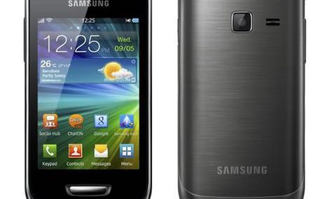Samsung Wave Y - proste połączenia