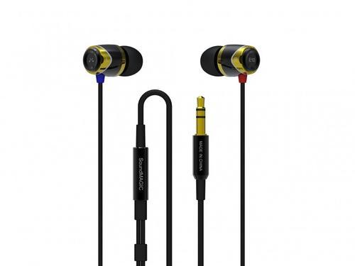 SoundMAGIC E10M Gold Black Sluchawki z pilotem i mikrofonem iPhone, Galaxy S