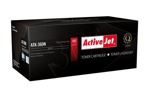 ActiveJet ATK-360N toner Black do drukarki Kyocera (zamiennik Kyocera TK-360) Supreme