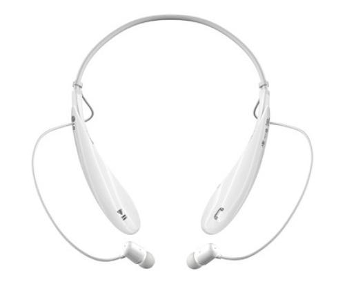 LG Bluetooth Stereo Headset HBS-800 White Pearl