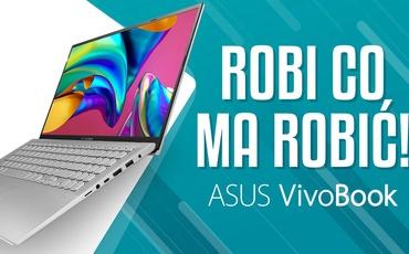 Kompaktowy laptop domowy - Asus VivoBook X512DA