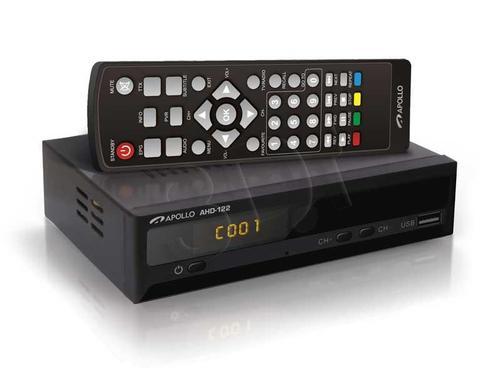 Apollo AHD-122 Dekoder DVB-T i odtwarzacz FHD