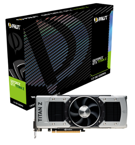 Palit GeForce GTX TITAN Z 12GB