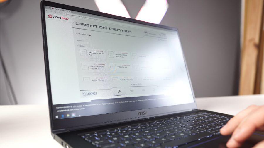 MSI PS63 Modern - opinia