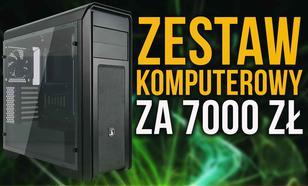 Zestaw Komputerowy za 7000 zł Oparty o Procesor AMD Ryzen 7 1700X