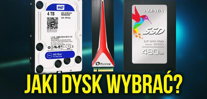 Jaki Dysk Wybrać - HDD vs SSD i SATA vs M2