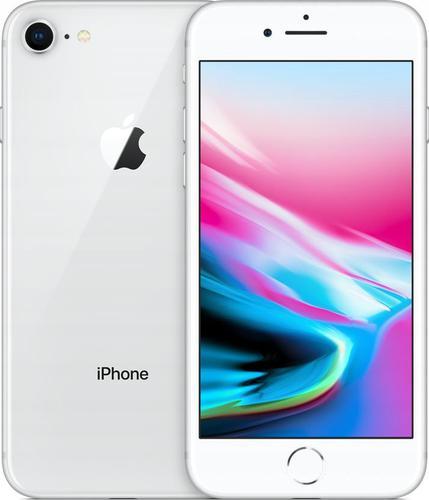 "Apple iPhone 8 64GB Silver (4,7""; 1334x750; 64GB; 2GB; kolor srebrny )"