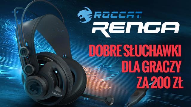 Roccat Renga - Słuchawki Gamingowe za 200 zł