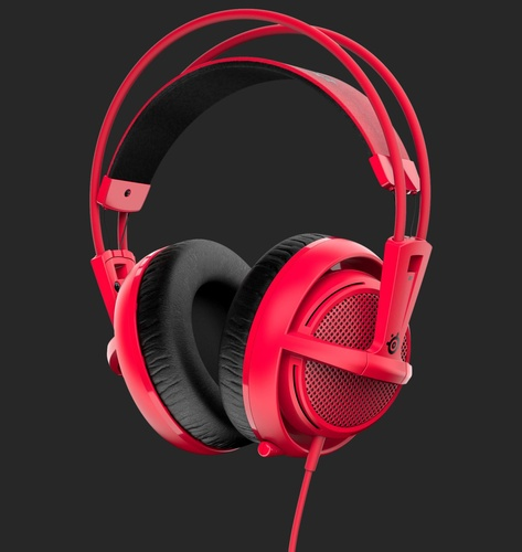 SteelSeries Siberia 200 Forged Red (51135)