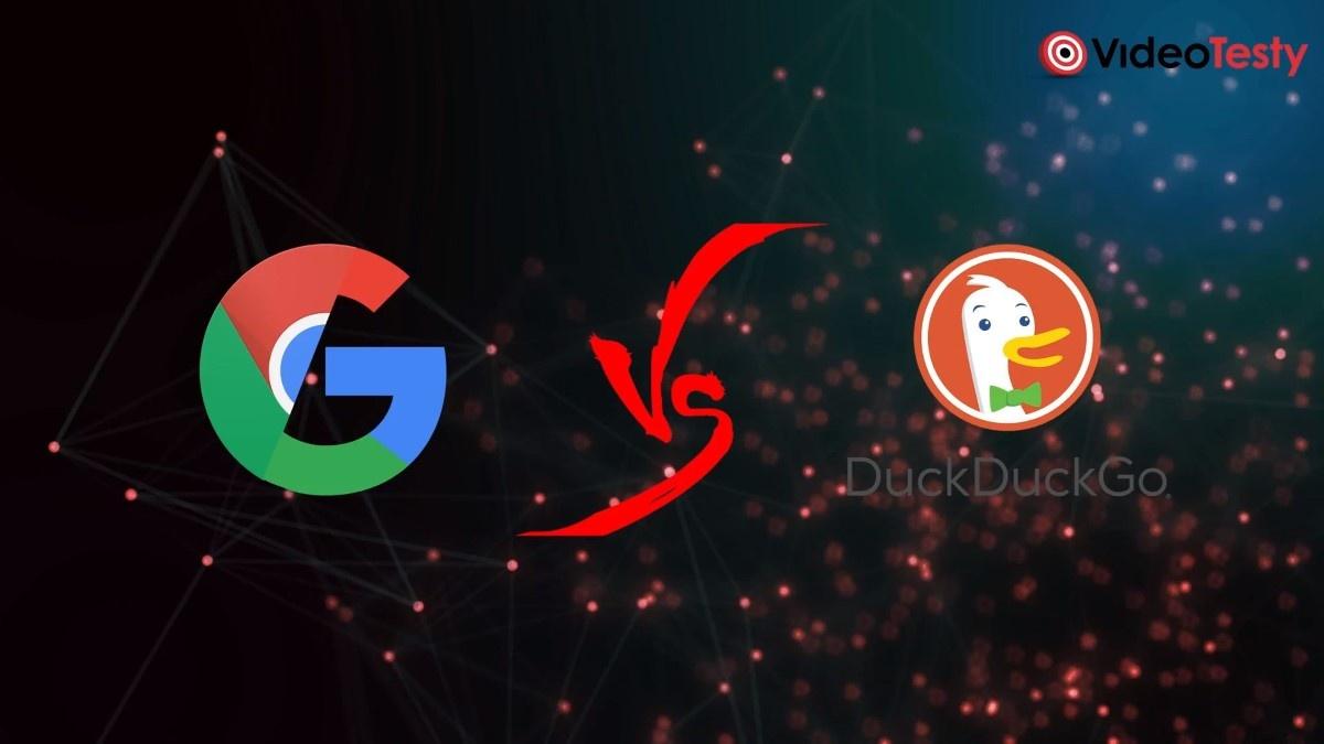 Duck Duck Go vs Google Chrome