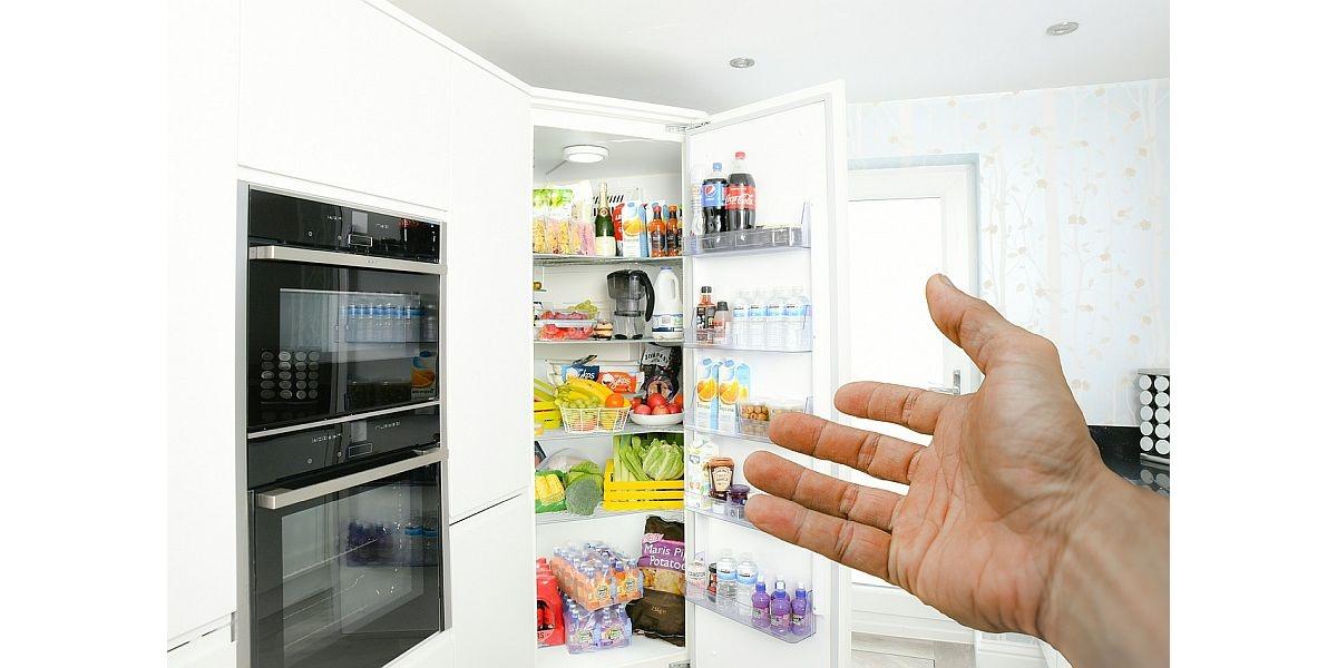 wnętrze lodówki plus piekarnik