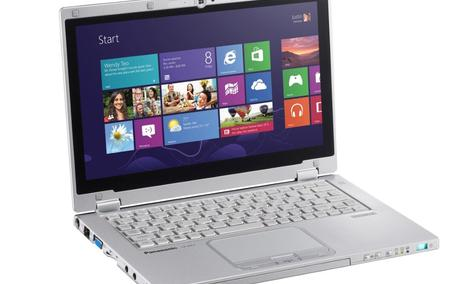 Panasonic Toughbook CF-AX2 – wzmocniony ultrabook z Windows 8 Pro