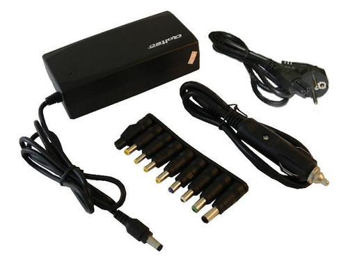 Qoltec zasilacz do notebooka 12-24Vmax5A-wtyczka 9szt 0161 90W car-home